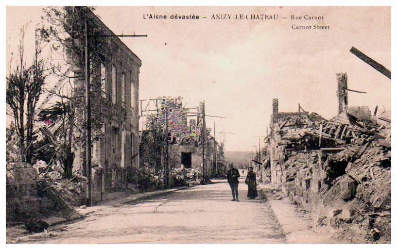 Aisne Anizy Le Chateau