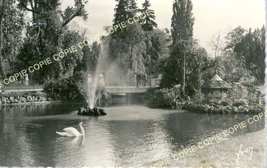 Old postcards allier Vichy