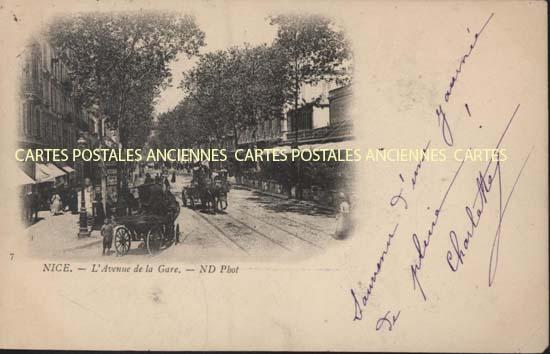 Cartes Postales Anciennes France 06 alpes maritimes Nice