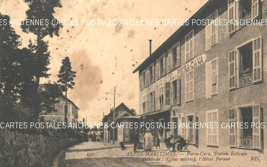 Cartes Postales Anciennes France 06 alpes maritimes Peira Cava