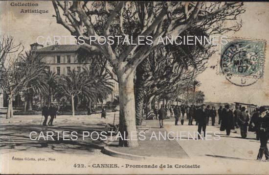 Cartes Postales Anciennes France 06 alpes maritimes Cannes