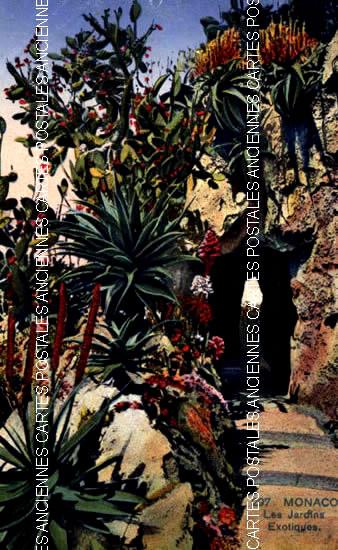 Old postcards monaco Beausoleil
