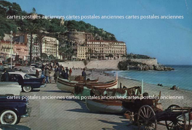 Old postcards 06 nice france Nice