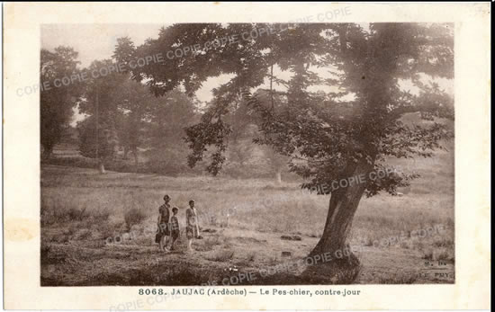 Cartes Postales Anciennes France  Jaujac