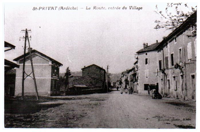 Old photos Villes villages St Privat