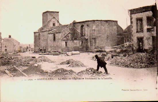 Old postcards ardennes france  Bazeilles