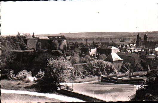 Old postcards ardennes france  Sedan