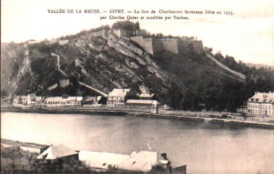 Old postcards ardennes france  Givet