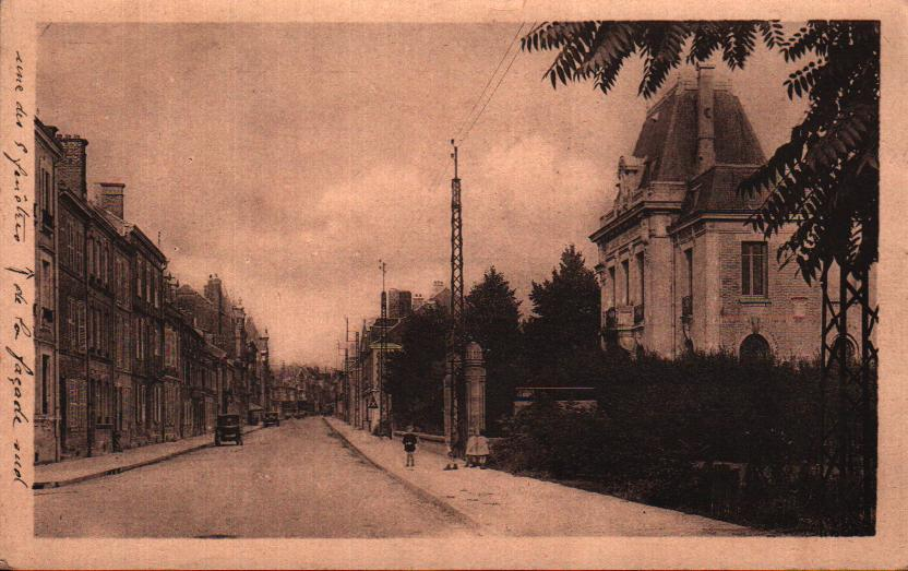 Old postcards ardennes france  Vouziers