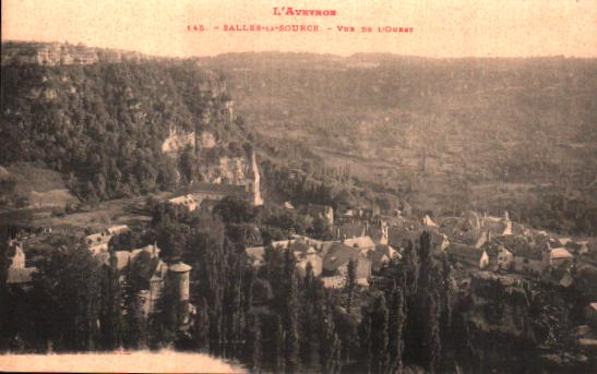 Aveyron Salles La Source