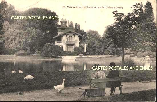 Cartes Postales Anciennes France Bouches du rhône Marseille 8ème Arrondissement