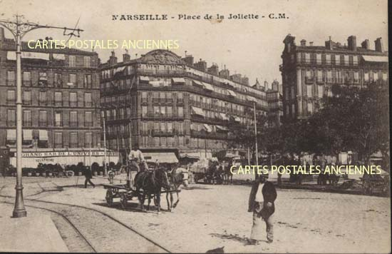 Cartes Postales Anciennes Bouches du rhône Marseille 2eme