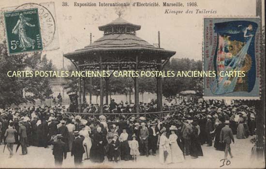 Cartes Postales Anciennes France Bouches du rhône Marseille 1er Arrondissement