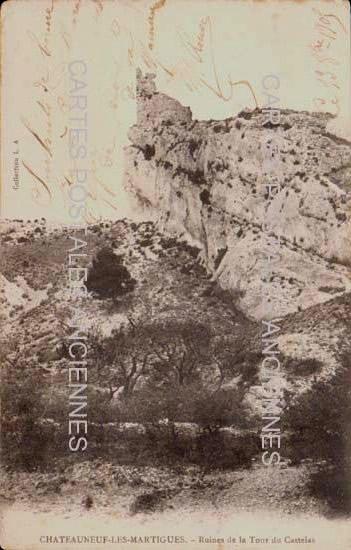 Bouches du rhone Chateauneuf Les Martigues