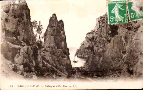 Cartes Postales Anciennes  bouches du rhone  Cassis