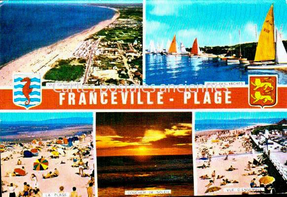 Calvados Merville Franceville Plag