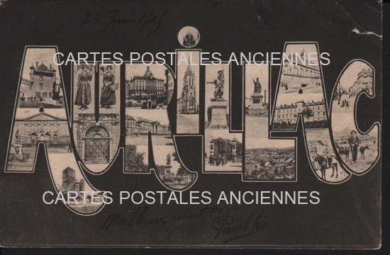 Cartes Postales Anciennes  Aurillac