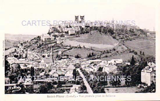 Cartes Postales Anciennes  St Flour