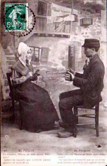Old Postcards Dordogne  Sarlat La Caneda