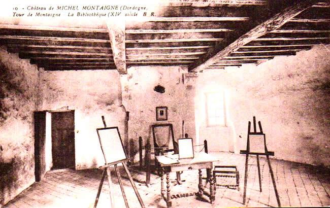Cartes Postales Anciennes Dordogne  St Michel De Montaigne