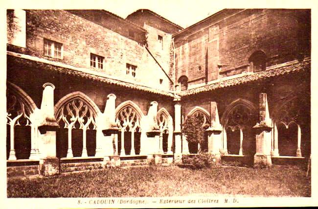 Cartes Postales Anciennes Dordogne  Cadouin