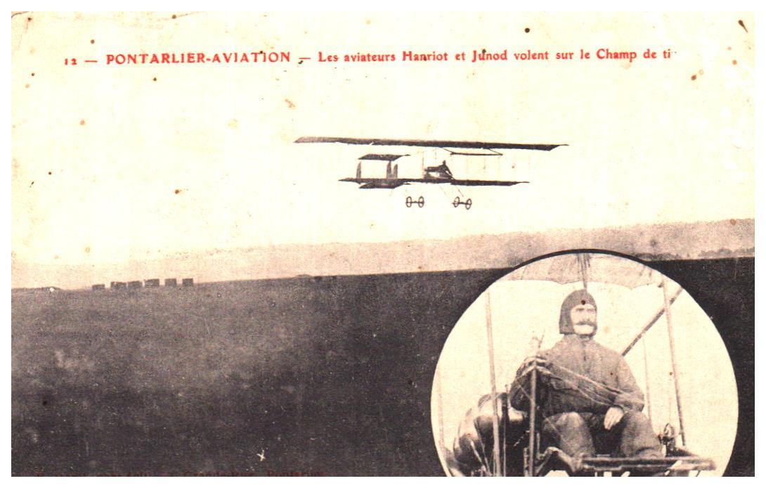 Cartes Postales Anciennes France Aviation Avion armée Pontarlier
