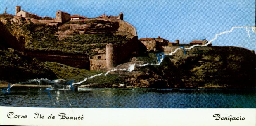 Cartes Postales Anciennes  Bonifacio