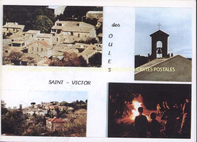 Cartes Postales Anciennes Gard  St Victor Des Oules