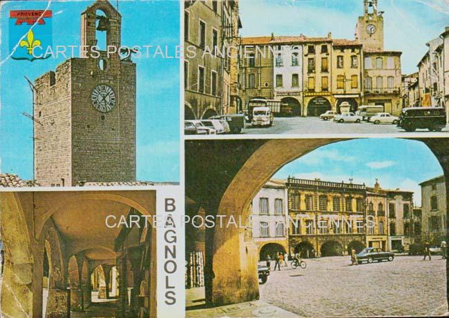 Old postcards le grau du roi france Bagnols Sur Ceze