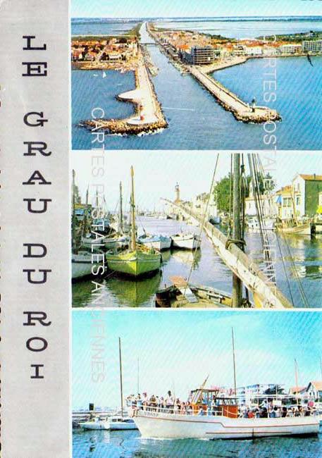 Old postcards le grau du roi france Le Grau Du Roi