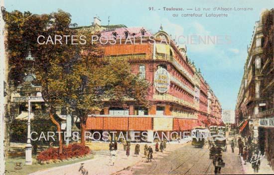 Cartes Postales Anciennes France  Toulouse