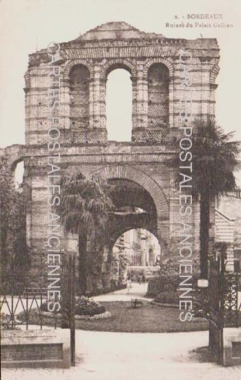 Cartes Postales Anciennes France  Bordeaux
