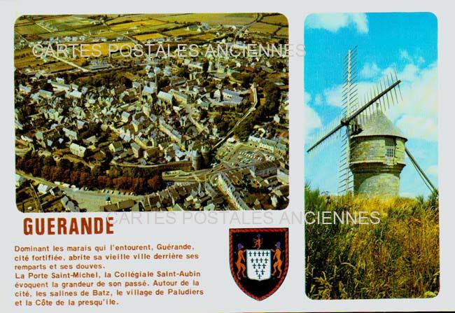 Old postcards guérande france Guerande