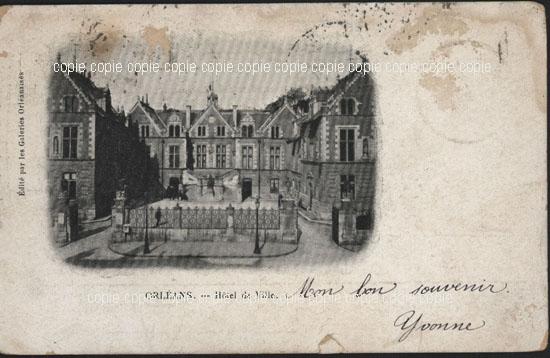 Cartes Postales Anciennes Loiret 45 Orleans