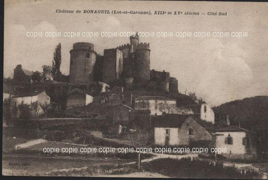 Cartes Postales Anciennes France Lot et garonne  Duras