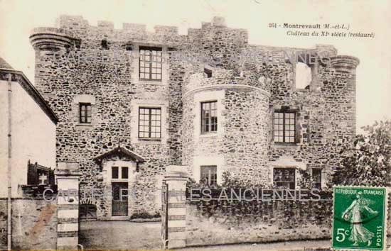 Cartes Postales Anciennes France Maine et loire  Montrevault