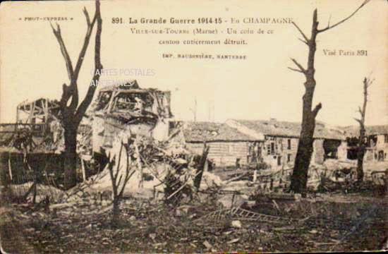 Marne Ville Sur Tourbe