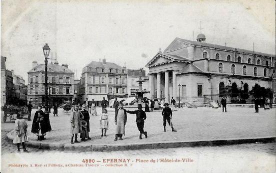 Cartes Postales Anciennes France Marne Epernay