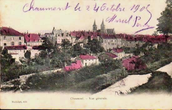 Cartes Postales Anciennes Haute marne Chaumont