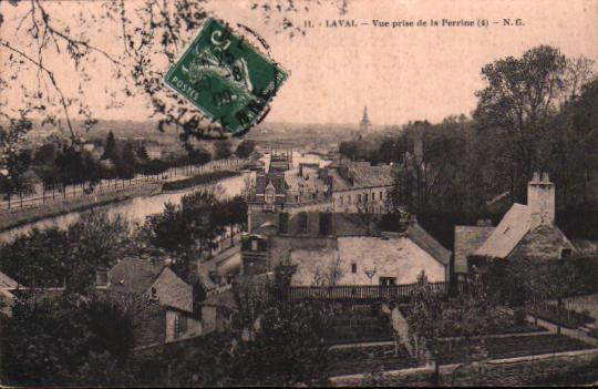 Old postcards sainte suzanne france Laval