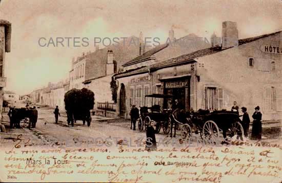 Cartes Postales Anciennes Meurthe et moselle 54 Mars La Tour