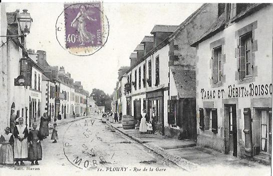 Cartes Postales Anciennes Morbihan Plouay
