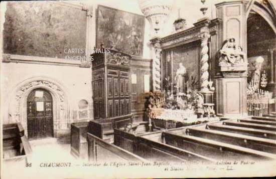 Cartes Postales Anciennes  Chaumont