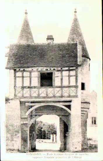 Cartes Postales Anciennes France Aisne  Longpont