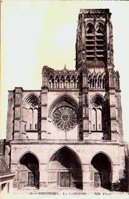 Cartes Postales Anciennes France Aisne  Soissons