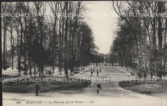 Cartes Postales Anciennes  oise  Beauvais