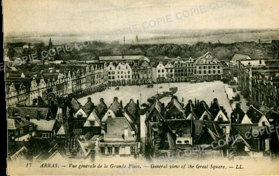 Cartes Postales Anciennes  Arras