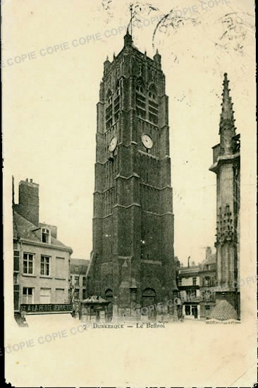 Cartes Postales Anciennes  Dunkerque
