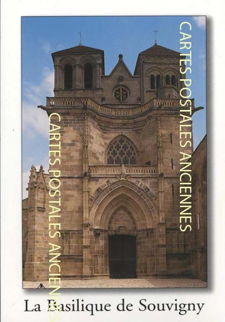 Cartes Postales Anciennes  allier  Souvigny