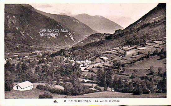 Cartes Postales Anciennes Pyrénees atlantiques  Eaux Chaudes